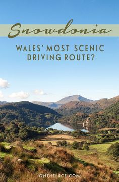 Snowdonia road trip – is this Wales' most scenic drive On the road in Snowdonia National Park in North Wales, through clear lakes, mountain peaks and forests – could this be Wales' most scenic driving route? Parc National, National Parks, Destinations D'europe, Holiday Destinations, Cool Places To Visit, Places To Go, Monument Valley, Wales Holiday, Visit Wales