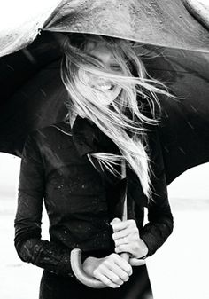 bw, rain