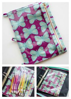 My 3 Ring Pencil Pouch tutorial has to be one of the best things I ever  thought…