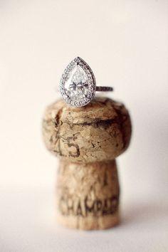 pear shaped #ring | Photography: Aaron Delesie - aarondelesie.com