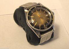 Sale! 1970s Waltham Mens Divers Watch Serviced Swiss Mechanical Wind Watch