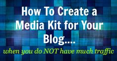 Media Kit Example: How To Strut Your Stuff As A Small Blogger