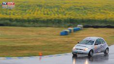 Campionatul Național de Autoslalom - Circuitul AMCKART, Bucuresti  pe o ploaie torentiala!!!!!