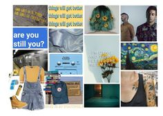 """""""sunshine and daisies"""" by emoprincess333 on Polyvore featuring CASSETTE, Nicole Miller, 7 For All Mankind, Topshop, Fjällräven and Timberland"""