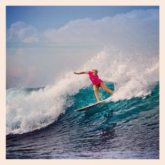 Bethany Hamilton killing it on the Search...