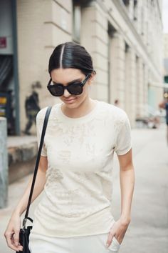 giackit:  Kendall Jenner in New York leaving the Donna Karan SS15 show. Photographed by Giacomo Cabrini