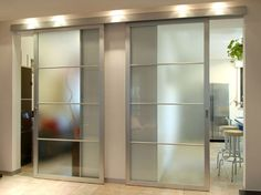 aluminium and glass sliding door METRA-FLEX METRA