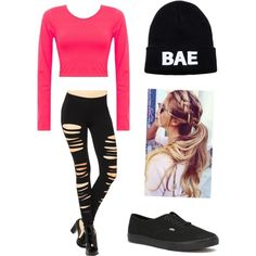 Untitled #1 by nizahongirls on Polyvore featuring polyvore, fashion, style and Vans