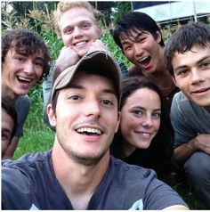 The Maze Runner cast, AH! I hope the movie is better than the book! Minho, I love you! @Calli Easthon