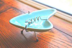 vintage ashtray by MyFunnyLittleFrog, via Flickr