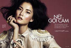 Jay Shin by Andrew Yee for Elle Vietnam February 2012