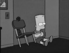 Quotes that are fireproof, just like our fireproof document bags Simpsons Quotes, Cartoon Quotes, The Simpsons, Bart Simpson, Sad Wallpaper, Sad Pictures, Psychedelic Art, My Mood, Mood Quotes