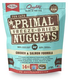 Primal Pet Foods Freeze-Dried Feline Chicken and Salmon Formula *** Learn more by visiting the image link.