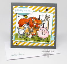 From The Herd Handmade Card. Great new set from the Stampin' Up! Occasions catalog. www.mystamplady.com