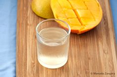 Mango Liqueur - how to make a delicious mango flavoured liqueur at home!