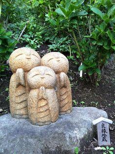 A cute little Buddha(s) statue