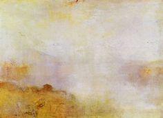 Turner, Joseph Mallord William: Bergszene mit See und Hütte (Mountain Scene with Lake and Hut)