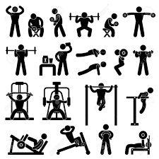 Resultado de imagem para halteres gym drawings