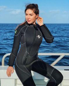 655 Scuba Girl, Womens Wetsuit, Second Skin, Swimsuits, Swimwear, Snorkeling, Scuba Diving, Corset, Latex