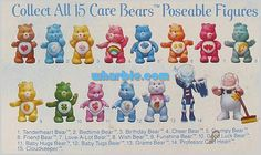 <3 Care Bears Poseables <3