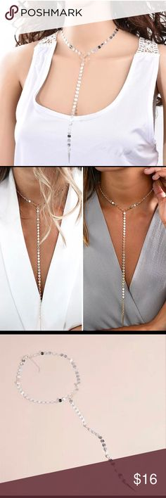 HP Long chain choker statement Bib necklace ( FASHION ) long chain choker classy Statement Bib necklace Jewelry Necklaces