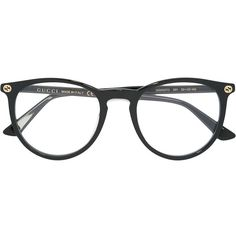 Gucci Eyewear circular glasses (6.320 UYU) ❤ liked on Polyvore featuring accessories, eyewear, eyeglasses, black, circle eyeglasses, circular glasses, gucci eyewear, gucci eyeglasses and circle glasses