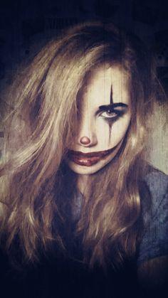 #hallowen #scary #halloweenmakeup #spooky #makeup #joker #jokermakeup
