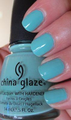 China Glaze via Essie Iheartprettypolish #DIY #FASHION