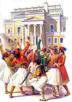 Greek Independence, Greek History, Costume Design, All Over The World, 3, Revolution, Europe, Painting, Greek