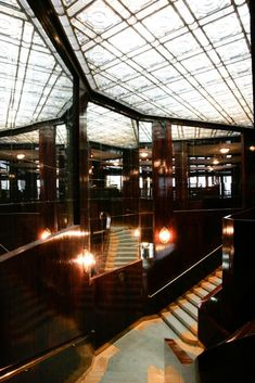 Interior of Looshaus, Vienna, Adolf Loos