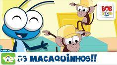 Bob Zoom - Os Macaquinhos – Vídeo infantil