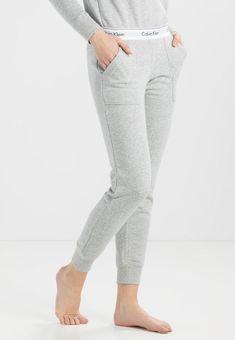 Calvin Klein Underwear Pyjamasbyxor - grey - Zalando.se