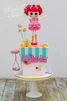 Lalaloopsy Fondant Cake Topper