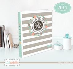 RSFB17A 2017 LDS Relief Society Binder Cover and by LDSPrintable