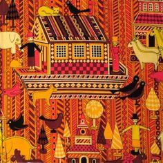Pat Albeck – Vintage fabric design.