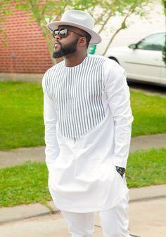 Vêtements africains pour hommes  Dashiki africain tissu #AfricanFashion