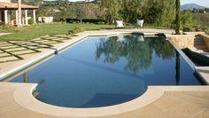 Mediterranean beauty pool in Santa Barbara, CA.