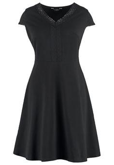 Dorothy Perkins Curve Sukienka rozszerzana plus size czarna black