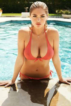 Kate Upton by Terry Richardson This would make a great boudoir shot if she were wearing a bra.