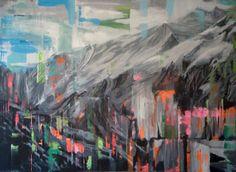 """Trampland III"" by Sofia Echeverri | auxiliumart.com"