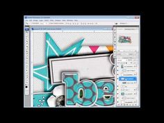 Meagan's Creations - YouTube DIGISCRAP TUTORIAL VIDEOS for ps/ pse.  Very helpful for scrappers and digital artists like me.  TONS of videos
