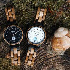 Kvalitná ručná práca je obsiahnutá v každom jednom detaile drevených hodiniek Waidzeit. Gin, Berry, Wood Watch, Whisky, Chronograph, Merry Christmas, Holidays, Names, Craft Work