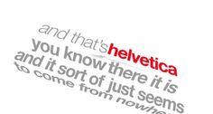 Helvetica-Kinetic Typography