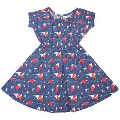 Love the print on this baby girl dress from Nktoo. Sooo adorbs!