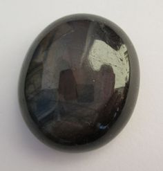 Black Sapphire oval,  Origin Viet Nam: 73,45 ct, 28 x 23 x 10 mm - www.kn-jewellery.com