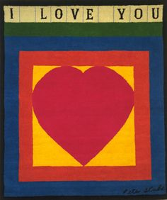 I Love You - Peter Blake
