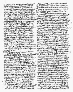 thomas aquinas handwriting.
