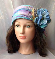 teen girls ladies boho headband one of a kind hand  by Tatiana123