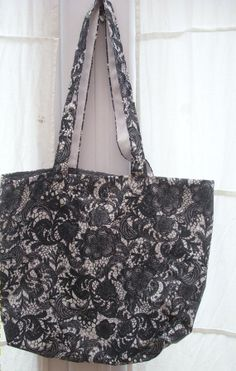 Recycled Umbrella Tote Bag