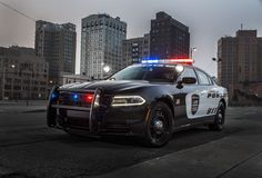 Dodge's latest police car uses radar sensors to prevent ambushes     - Roadshow Police cars are as old as cars themselves but theyre always relying on new technology to improve. Dodges latest update should give police officers an additional sense of safety.  Effective immediately all 2017 Dodge Charger Pursuit sedans will come equipped with the Officer Protection Package. It uses the cars backup camera and sensors to determine if someone is sneaking around the back of the car. It can prevent…